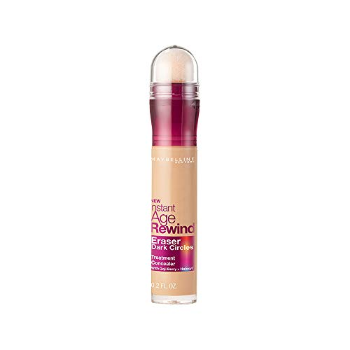 Contouring Eye System - Maybelline New York Instant Age Rewind Eraser Dark Circles Treatment Concealer Makeup, Honey, 0.2 fl. oz.