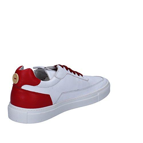 Di Herren 774M Mariano kalbsleder weiß Sneaker Vaio Pelle Rot Mercury Weiß R4tdqt