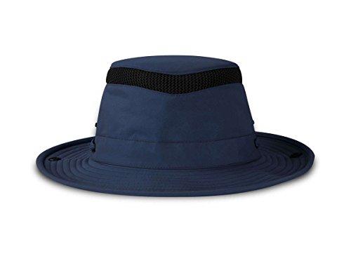 (Tilley ENDURABLES Ltm3 Airflo Hat, Color: Navy, Size: 7 3/8 (10NM03HTLM30275))