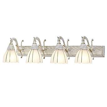 Miroir salle de bain style rétro européenne Leuchten Mode ...