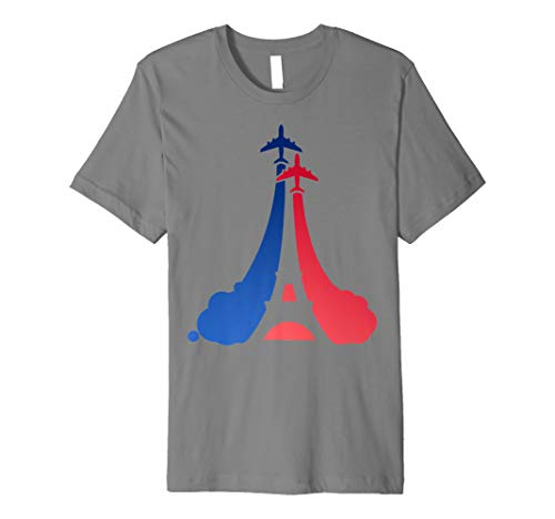 Bastille Day French Flag Eiffel Tower Premium T-Shirt