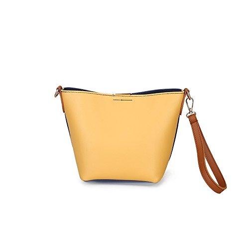 Sac sac Sac Wild main jaune rose Wave bandoulière New Mini Fashion à à à main portable tFpRwqF