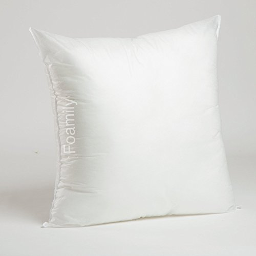 Best Price! Foamily Premium Hypoallergenic Stuffer Pillow Insert Sham Square Form Polyester, 24 L X...