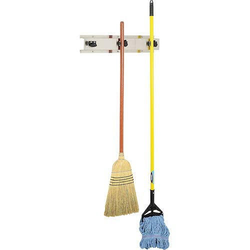 Bobrick 3 Prong Mop & Broom Holder 24''W - B223x26 (3 Pack)
