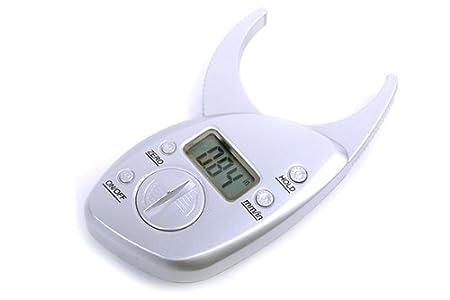 Digital Body Fat Caliper LCD Skin Fold Analyzer Measurement Thickness
