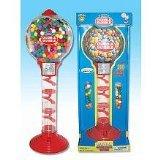 Spiral Fun 3 Foot Tall Plastic & Metal Gumball Bank by Spiral Fun Gumball Machine