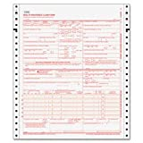 CMS-1500 Form,2 Part Continuous,8-1/2''x11'',1500 Sets/CT,WE, Sold as 1 Carton, 1500 Each per Carton