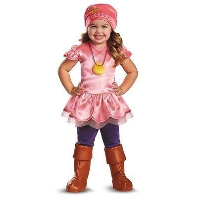 Peter Pan Disney Jr Jake & the Never Land Pirates Toddler Izzy Deluxe Costume (Toddler Medium, -
