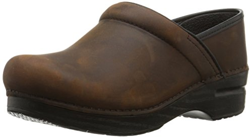 Dansko Women's Wide Pro Mule, Brown, 39 EU/8.5-9 W US by Dansko