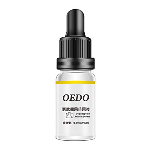 Oligopeptide Moisturizing Arbutin Serum Essence Brightening Essence Liquid,Pausseo Shrink Pores Face Vitamin Serum Hyaluronic Acid Liquid Moisturizing Whitening Essential Oils (10 mL / .34 fl oz)