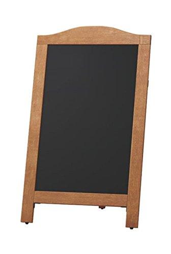 店舗備品  事務用品マーカー用 スタンド 黒板 茶 マグネット 対応 国産 日本製   B07BT4YDTF