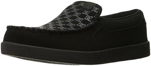 DC Men's Villain TX Slip-on Skate Shoes