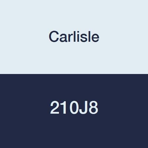 Carlisle High Performance Belt (CARLISLE 210J8 V-Ribbed Belts with 8 Ribs, J Section, Rubber, 0.736 Belt Width, 21.5