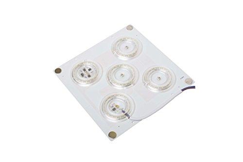 Plafoniere Quadrate Neon Ufficio : Lineteckled® e20.001.45c piastrina led quadrata con attacco