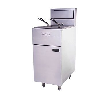 Anets SLG40 SilverLine 14 Gas Fryer - Deep Fryer by ANETS