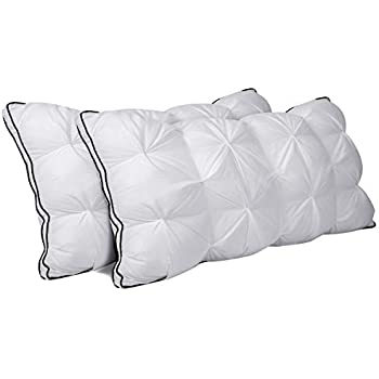Amazon Com Homeideas Luxury Hotel Bed Pillow Twisted