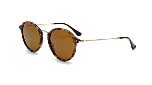 Ray-Ban Brown Havana Icon Sunglasses RB 2447 1160 49mm +SD Glasses +Cleaning - Ban Highstreet Ray Round Sunglasses