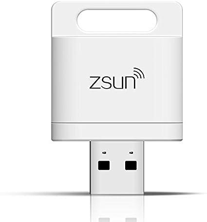 Lector de tarjetas inteligentes Wifi ZSUN inalámbrico para iPhone ...