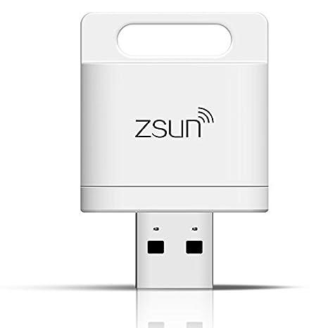 Lector de tarjetas inteligentes Wifi ZSUN inalámbrico para ...