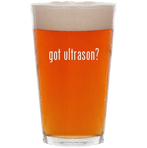 got ultrason? - 16oz All Purpose Pint Beer Glass