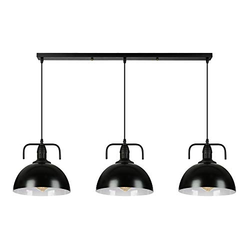 Industrial Nautical Style Single Mini Three Lights Island Light Pendant Light - LITFAD 30