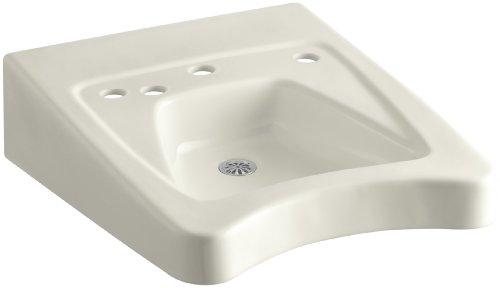 KOHLER K-12634-L-96 Morningside Wheelchair Bathroom Sink with 11-1/2