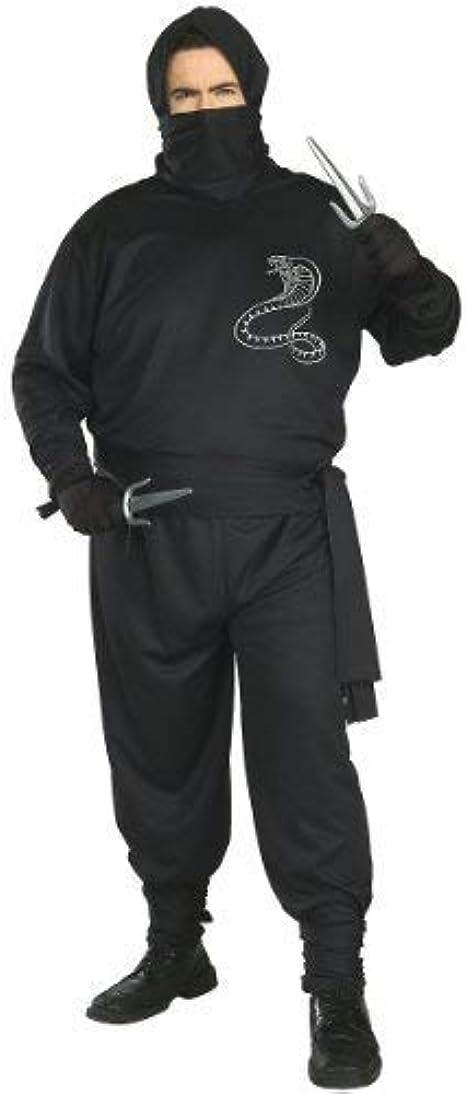 Plus Size Adult Ninja Costume - Mens Full