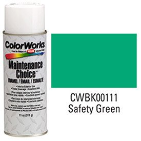 Krylon Industrial Colorworks Enamel Safety Green - Lot of 6