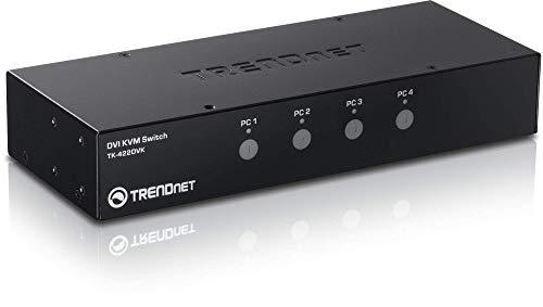 TRENDnet 4-Port DVI KVM Switch with Audio