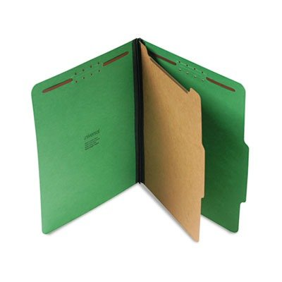 UNV10202 - Four-Section Pressboard Classification Folder