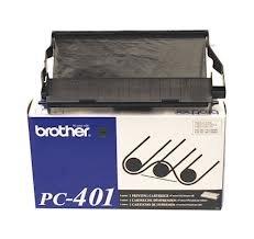 BRTPC401 - Brother PC401 Black Ribbon Cartridge (Brother Pc401 Black Ribbon)