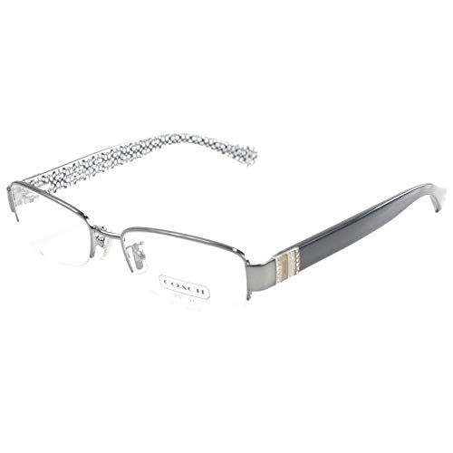 Coach Women's HC5027B Eyeglasses Dark Silver/Black ()