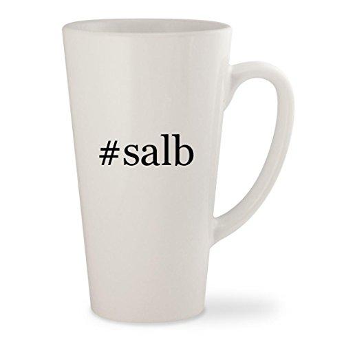 Price comparison product image #salb - White Hashtag 17oz Ceramic Latte Mug Cup