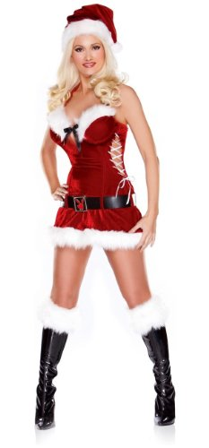 Playboy Holiday Honey Costume - Adult Costume - Large