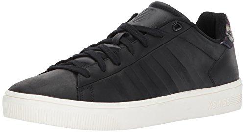 Sneaker K-swiss Mens Corte Frasco Nero / Marshmallow