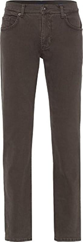 Brax męskie dżinsy Cooper Denim Regular Fit Olive: Odzież