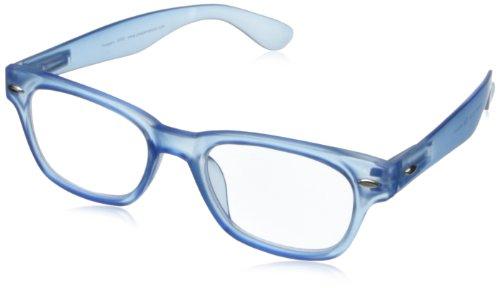 Peepers Wayfarer Rainbow Bright Retro Reading Glasses,Blue,3, 45 mm 3