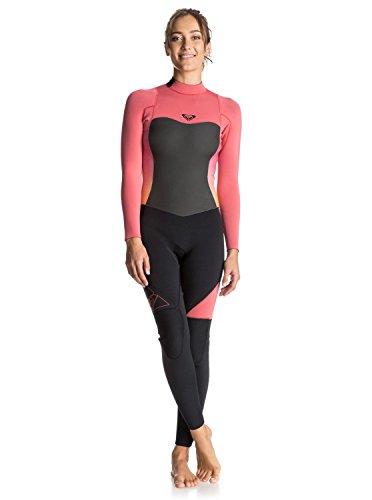 Roxy Womens Roxy Syncro 3/2Mm - Back Zip Full Wetsuit - Women - 10 - Pink Paradise Pink 10