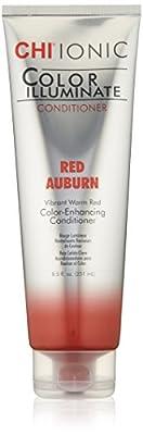 CHI Ionic Color Illuminate Red Auburn Conditioner, 8.5 Fl Oz