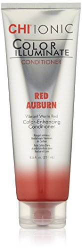 CHI Ionic Color Illuminate Red Auburn Conditioner, 8.5 Fl Oz