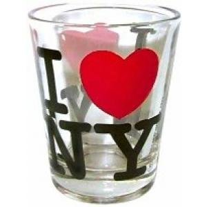 Great Places To You I Love New York Shot Glass, Officially Licensed ()