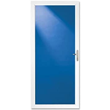 Larson Full View Storm Door 36 X 81 White Reversible Storm
