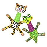 Fat Cat Rubber Neckers Dog Toy, My Pet Supplies