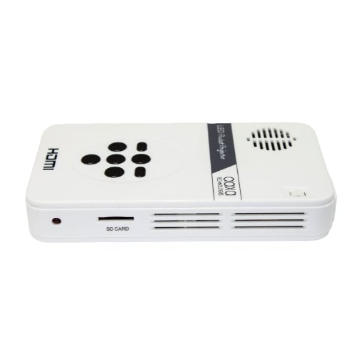 Aaxa led pico micro video projector pocket size portable for Micro video projector