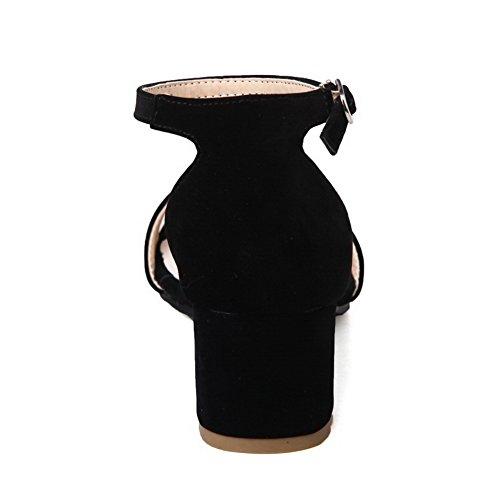 resistant Sandales Noir Adeesu Revêtement Uréthane De Robe Slc03754 À Froid Des Not water Femmes rqUOr0Pwg