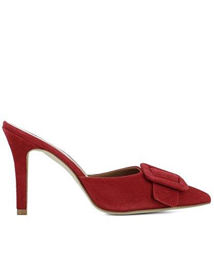 Paris Texas Ladies Px102camosciorosso Scarpe Con Tacco Alto In Camoscio Rosso
