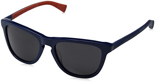 Cole Haan Men's Ch6017s Square Sunglasses, Navy, 55 - Cole Sunglass Case Haan