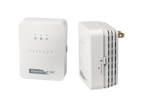 NETGEAR Powerline AV 200 Adapter Kit by NETGEAR