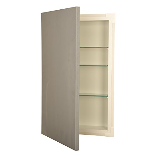 Wood Cabinets Direct 52NDST-3.5d-14x18 52nd Street Cabinets 14x18 Recessed Disappearing Frameless Wall Cabinet - 3.5'' Deep by Wood Cabinets Direct