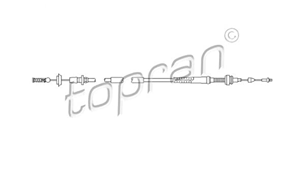 TP Accelerator Cable Fits SEAT Arosa Hatchback VW Lupo Polo 6N1721555N